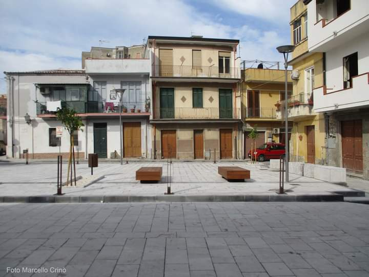 Barcellona PG. Inaugurazione di Piazza Gerone e della Salita del Carmine