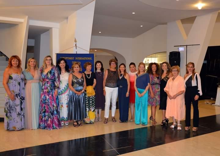 Soroptimist International Club Milazzo, successo per la Festa d'Estate 2020 a 'Villa Hera'