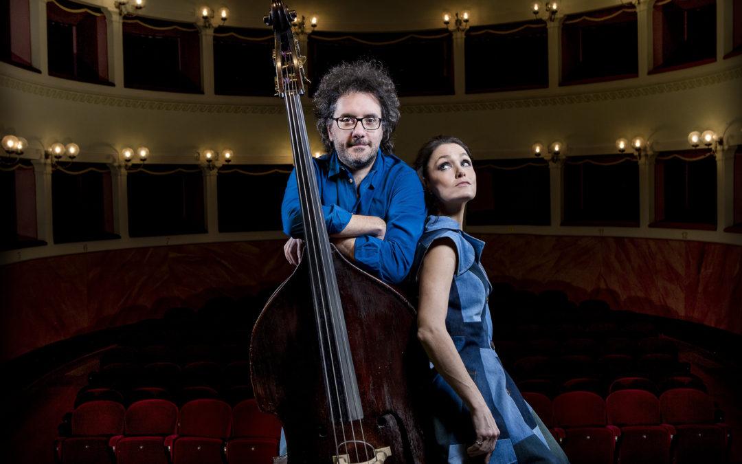 Al via 'CastrorealeMilazzo Jazz'. Petra Magoni & Ferruccio Spinetti in Piazza Pertini