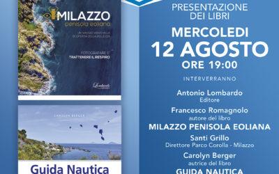 """Milazzo. Lombardo Edizioni, riparte dopo il lockdown con """"Due libri per l'estate"""""""
