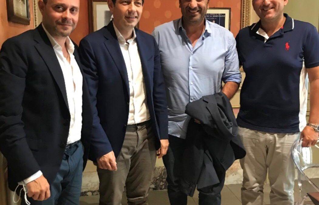 Il Dott. Filippo Iannelli (Assocendis) incontra l'Assessore alla Salute Avv. Ruggero Razza e l'On. Pino Galluzzo